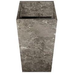 Salvatori Vasco 40 Freestanding Basin in Honed Gris du Marais Marble
