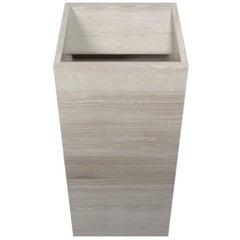 Salvatori Vasco 40 Freestanding Basin in Honed Silk Georgette Stone