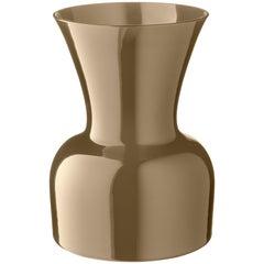 Salviati große Daisy Profili Vase in grau von Anna Gili