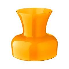 Salviati große Lilie Profili Vase gelb von Anna Gili