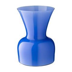 Salviati Medium Daisy Profili Vase in Kornblume von Anna Gili