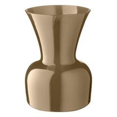 Salviati Medium Daisy Profili Vase in grau von Anna Gili