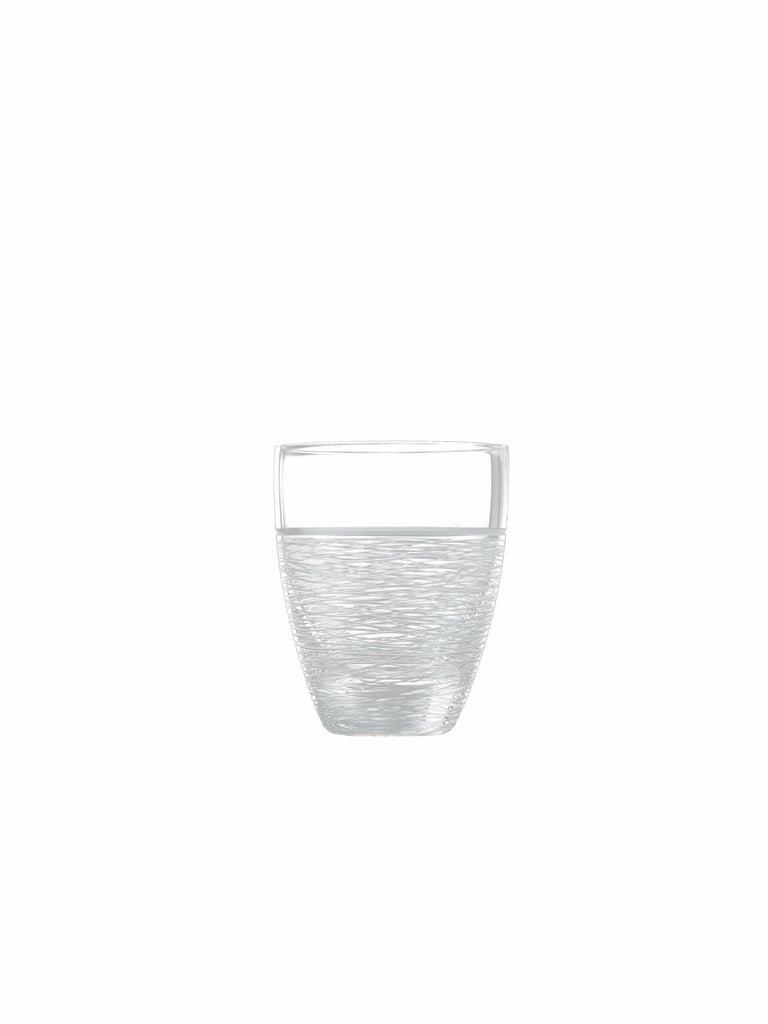 Italian Salviati Nove Set of 6 Dof Assorted Glasses For Sale