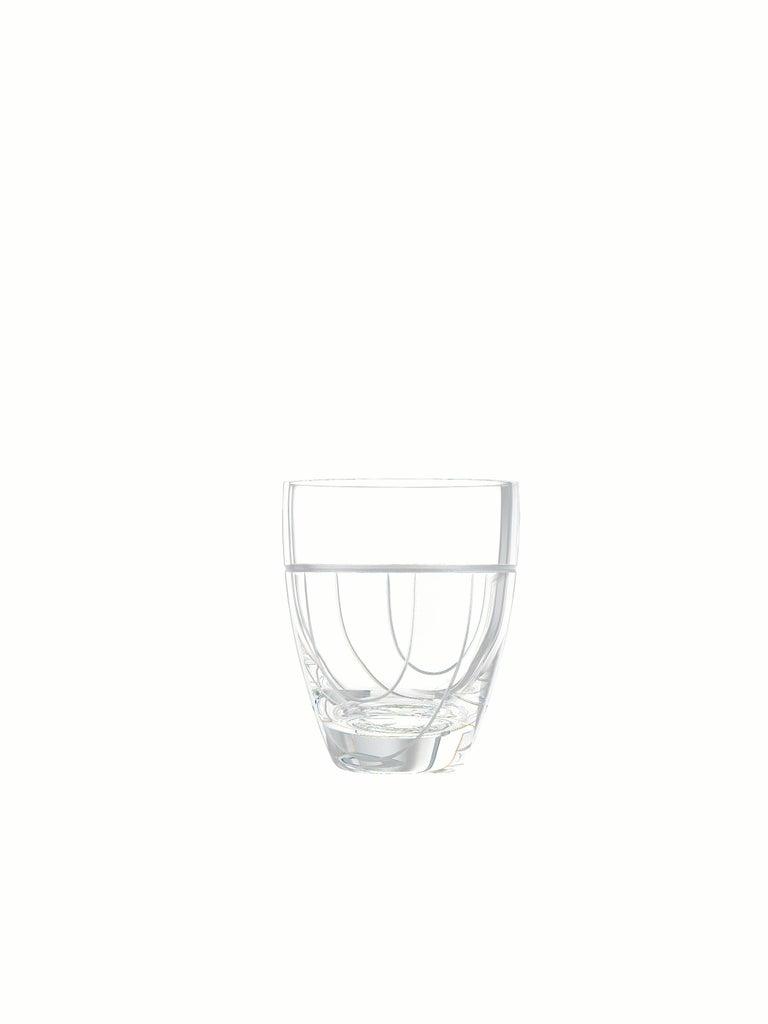 Salviati Nove Set of 6 Dof Assorted Glasses For Sale 1