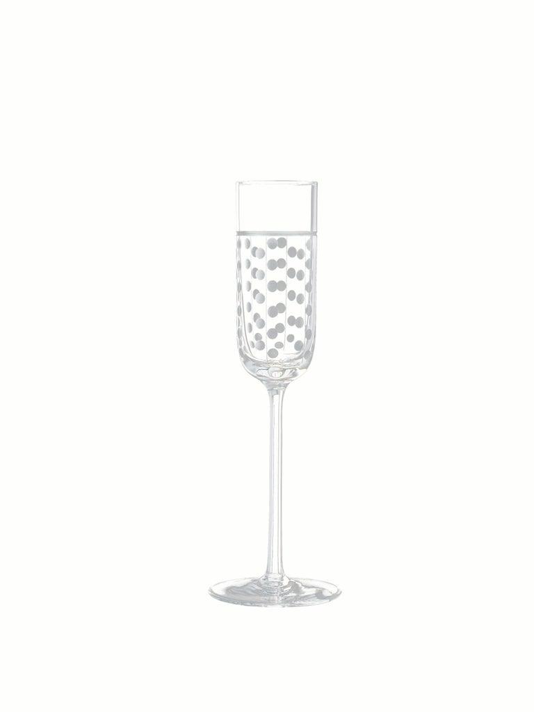 Salviati Nove Set of 6 Grappa Assorted Glasses In New Condition For Sale In Venezia, IT
