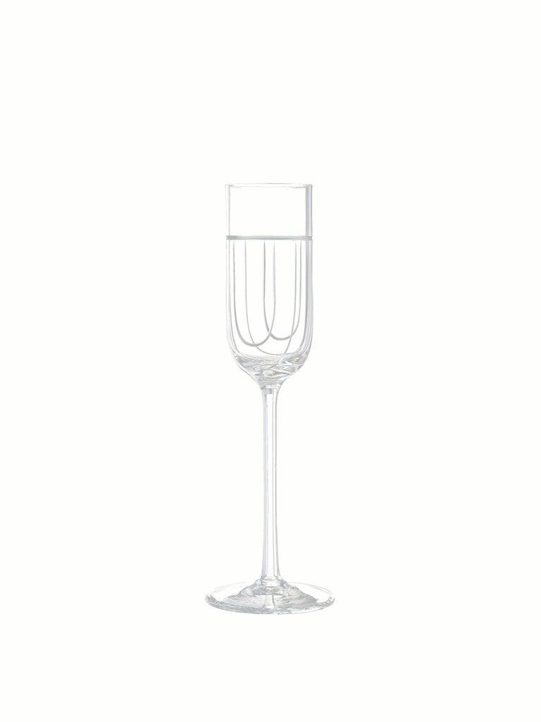 Salviati Nove Set of 6 Grappa Assorted Glasses For Sale 1