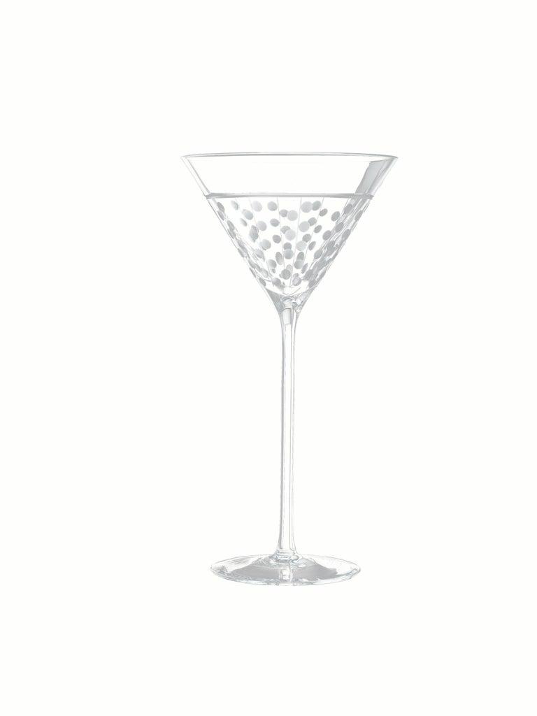 Salviati Nove Set of 6 Martini Assorted Glasses In New Condition For Sale In Venezia, IT