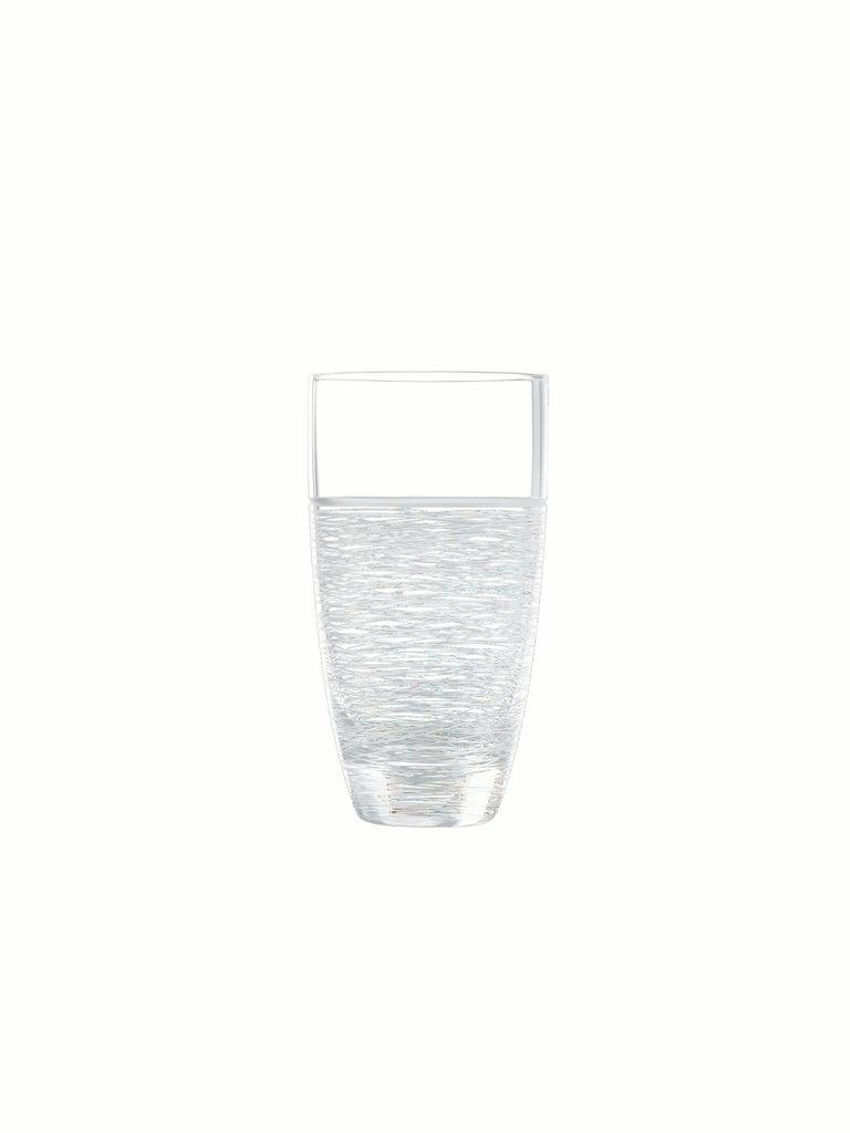 Italian Salviati Nove Set of 6 Tall Drink Assorted Glasses For Sale