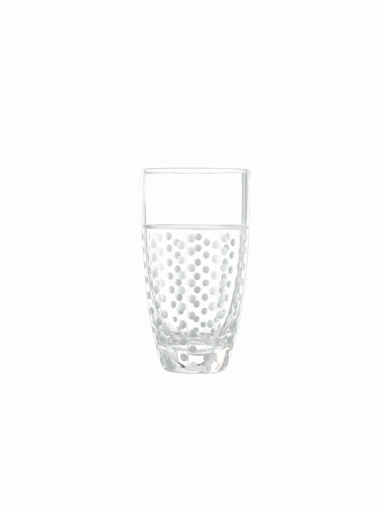 Salviati Nove Set of 6 Tall Drink Assorted Glasses In New Condition For Sale In Venezia, IT
