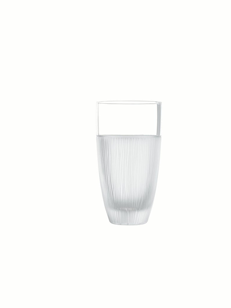 Contemporary Salviati Nove Set of 6 Tall Drink Assorted Glasses For Sale
