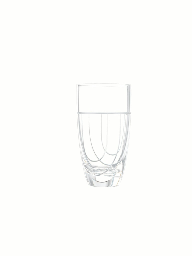 Salviati Nove Set of 6 Tall Drink Assorted Glasses For Sale 1
