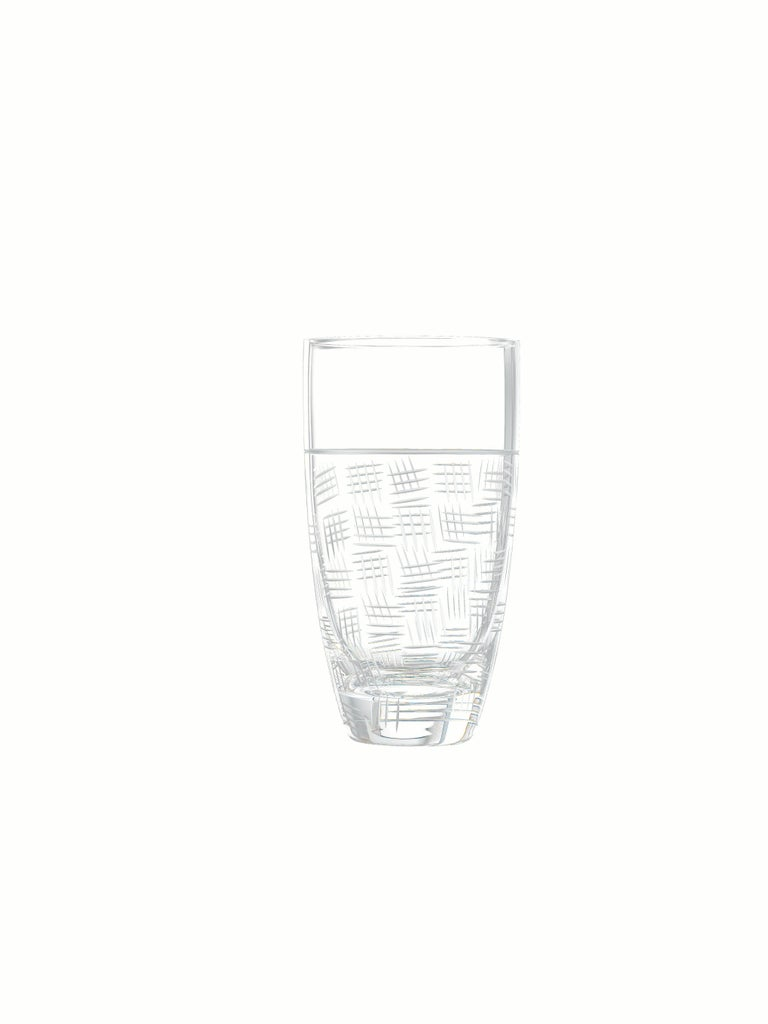 Salviati Nove Set of 6 Tall Drink Assorted Glasses For Sale 2