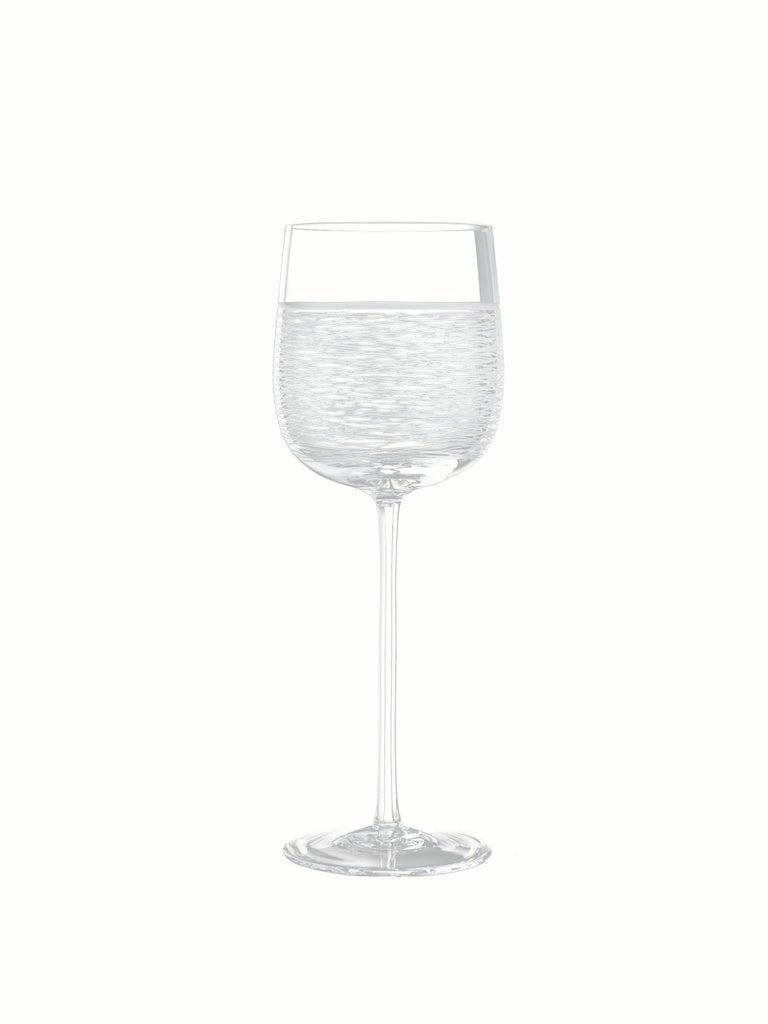 Italian Salviati Nove Set of 6 Water Assorted Glasses For Sale