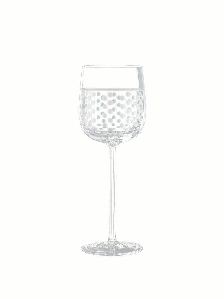 Salviati Nove Set of 6 Water Assorted Glasses In New Condition For Sale In Venezia, IT