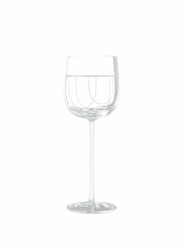 Salviati Nove Set of 6 Water Assorted Glasses For Sale 1