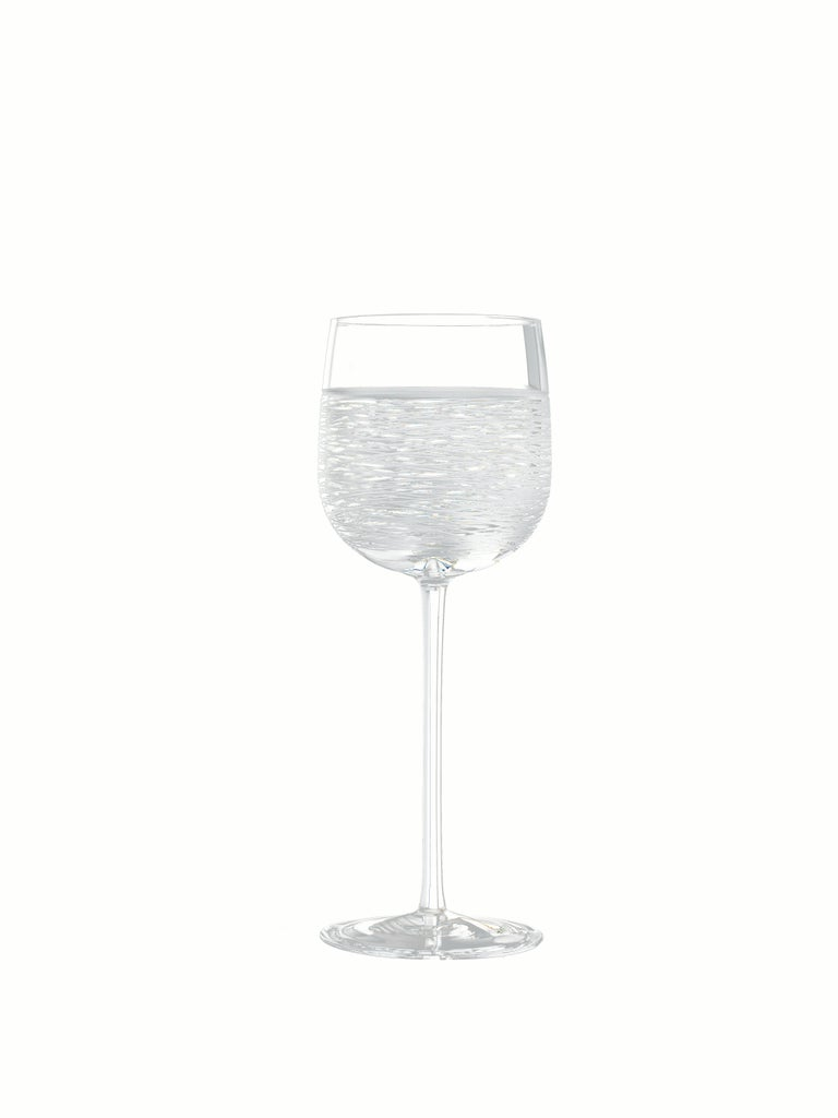 Italian Salviati Nove Set of 6 Wine Assorted Glasses For Sale