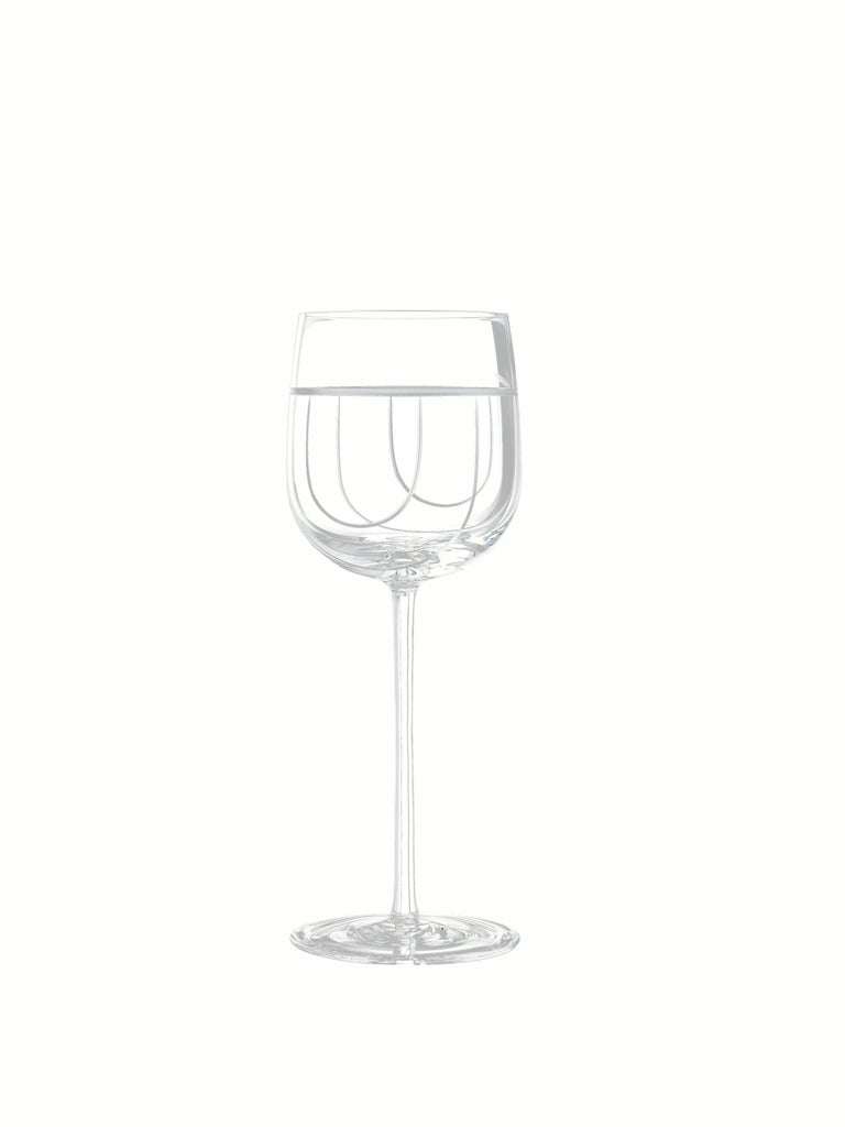 Salviati Nove Set of 6 Wine Assorted Glasses For Sale 1