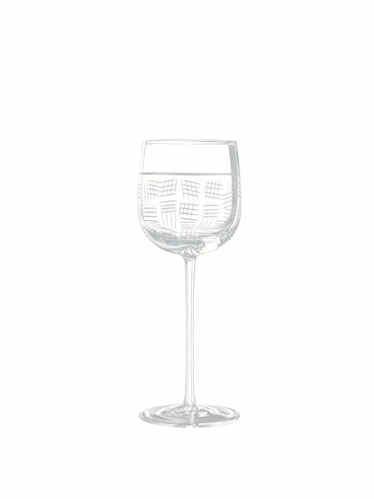 Salviati Nove Set of 6 Wine Assorted Glasses For Sale 2