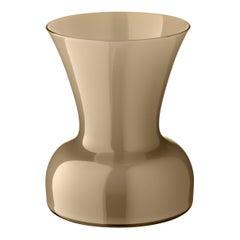 Salviati kleine Lilie Profili Vase in grau von Anna Gili