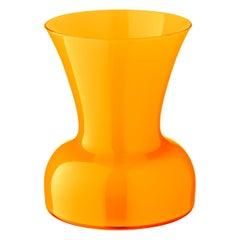 Salviati kleine Lilie Profili Vase gelb von Anna Gili