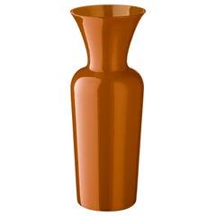 Salviati kleine Schwert Lily Profili Vase in Haselnuss von Anna Gili