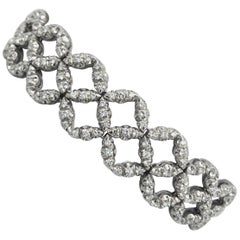 Salvini White Gold Diamond Bracelet