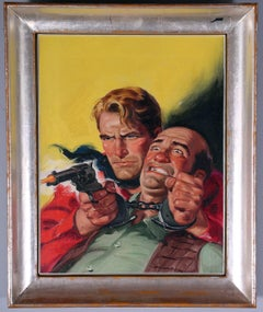 New Western Cowboy Pulp Cover