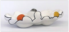Cloud Bowl - Platinum/Orange/Yellow