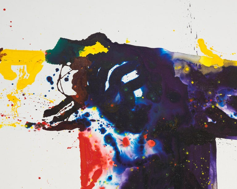 A monumental painting by Sam Francis.