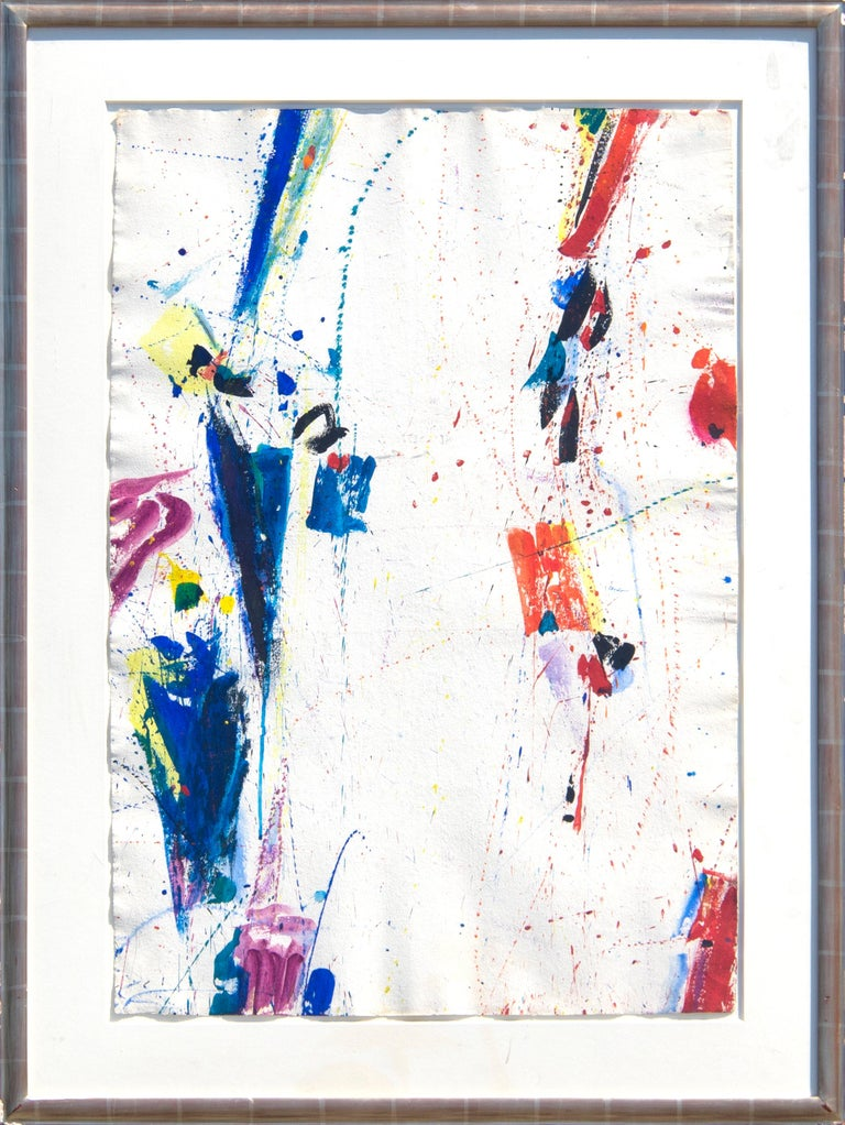 New York, New York - Painting by Sam Francis