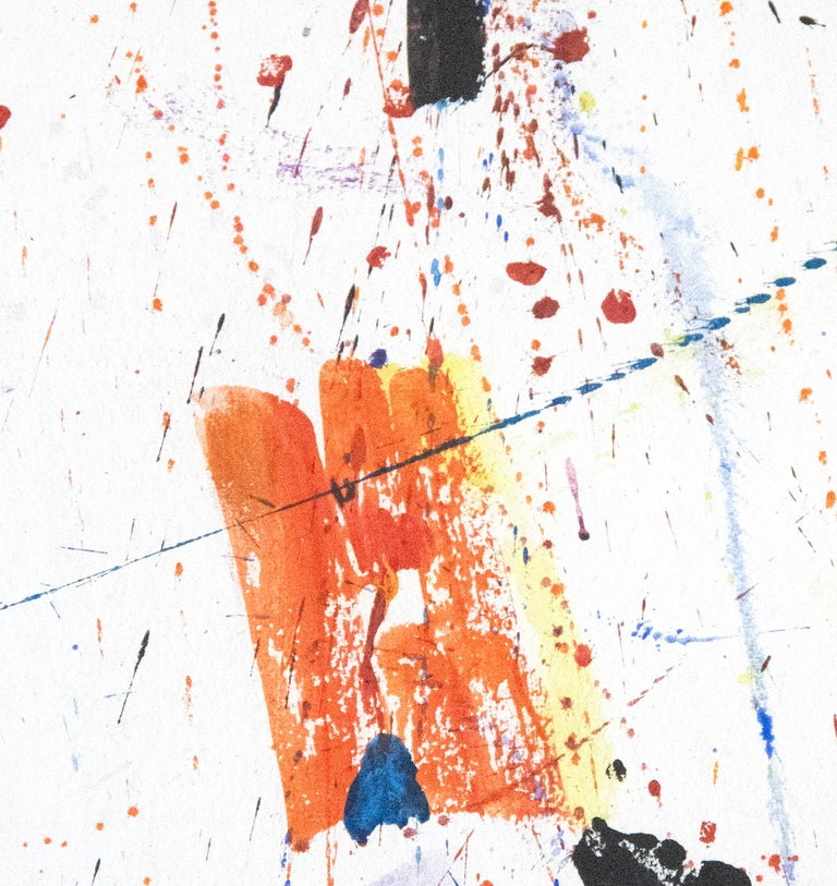 New York, New York - Abstract Expressionist Painting by Sam Francis