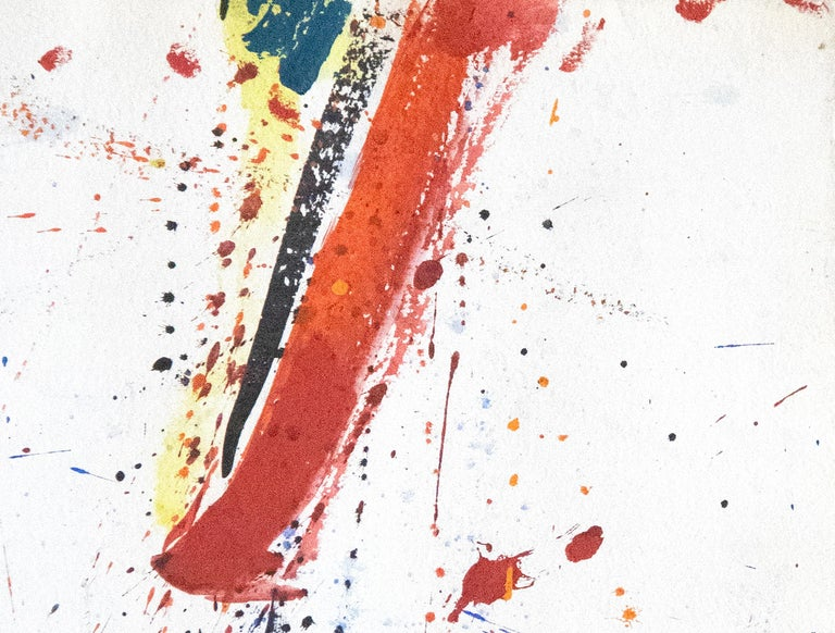 A painting by Sam Francis.