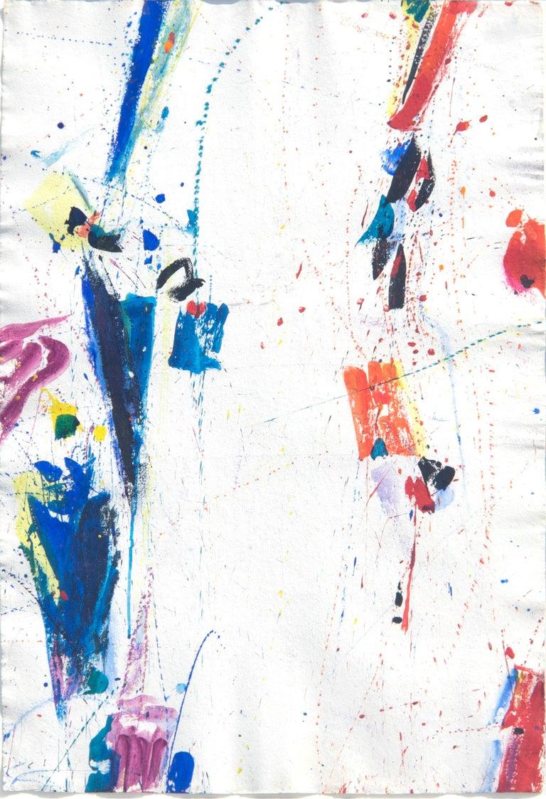 Sam Francis Abstract Painting - New York, New York