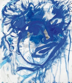 Untitled (SF80-1181) - - Modern, Portrait, Work on Paper, Late 20th Century