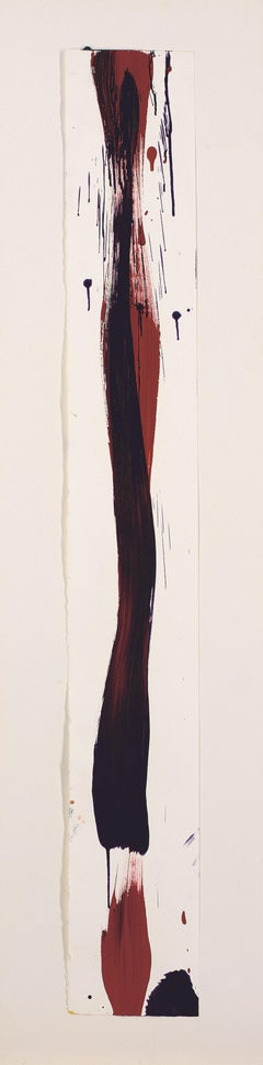 Untitled (SF86-019) - Modern, Abstract, Work on Paper, Late 20th Century
