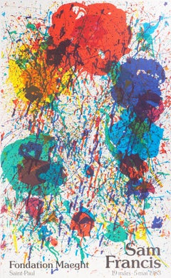 Color Explosion - Original lithograph (Maeght 1983)
