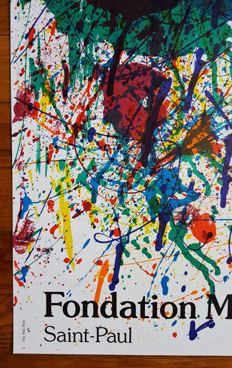 Expo 1983 (SF-229p) - Print by Sam Francis