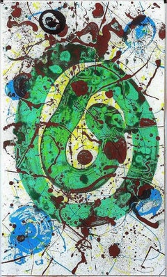 For the Blue Sons of the Air, Sam Francis