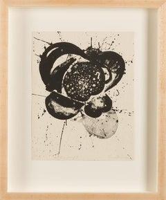 """Original lithograph """"Essai"""" by Sam Francis"""