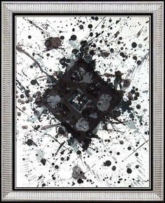 Sam Francis Color Lithograph SF 260 Authentic Original HAND SIGNED Abstract Art