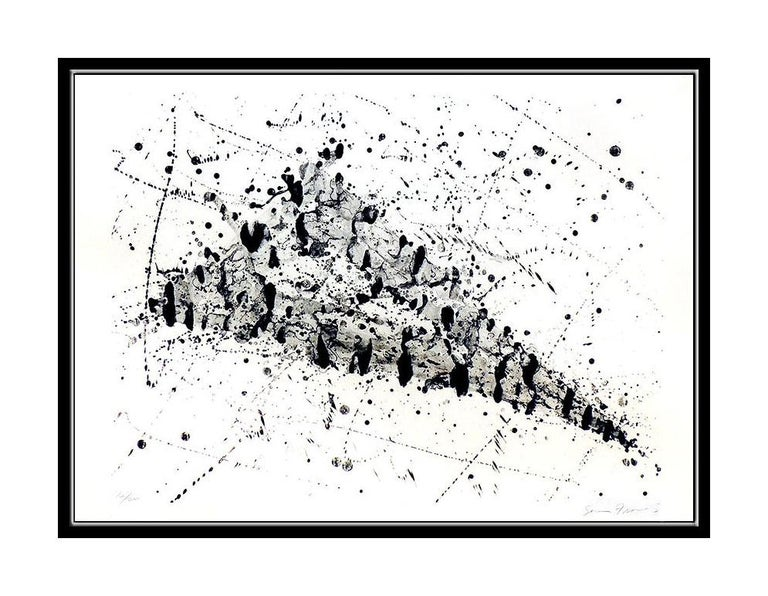 Sam Francis Lithograph Large Original HAND SIGNED Abstract Color Artwork SF 240 For Sale 1