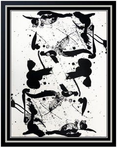 Sam Francis Rare Original Color Lithograph SIGNED Abstract Modern Artwork SF 98A