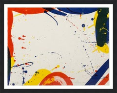 SAM FRANCIS  UNTITLED FROM PORTFOLIO 9  SIGNED AND NUMBERED  1967