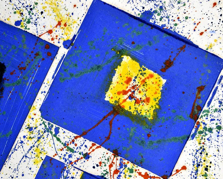 Untitled, 1978 - Abstract Expressionist Print by Sam Francis