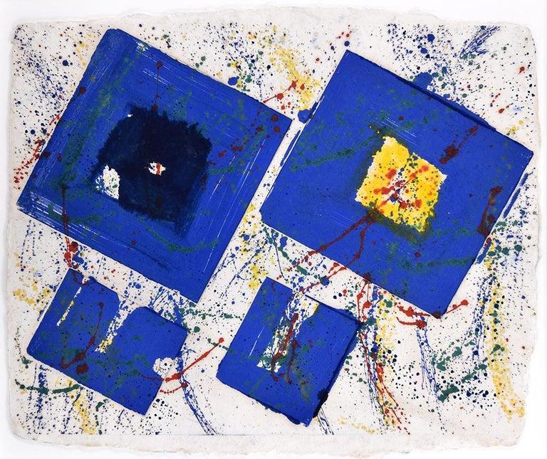Sam Francis Abstract Print - Untitled, 1978