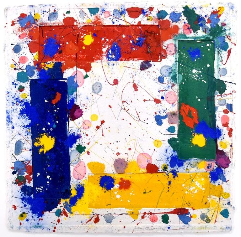 Sam Francis Abstract Print - Untitled, 1981