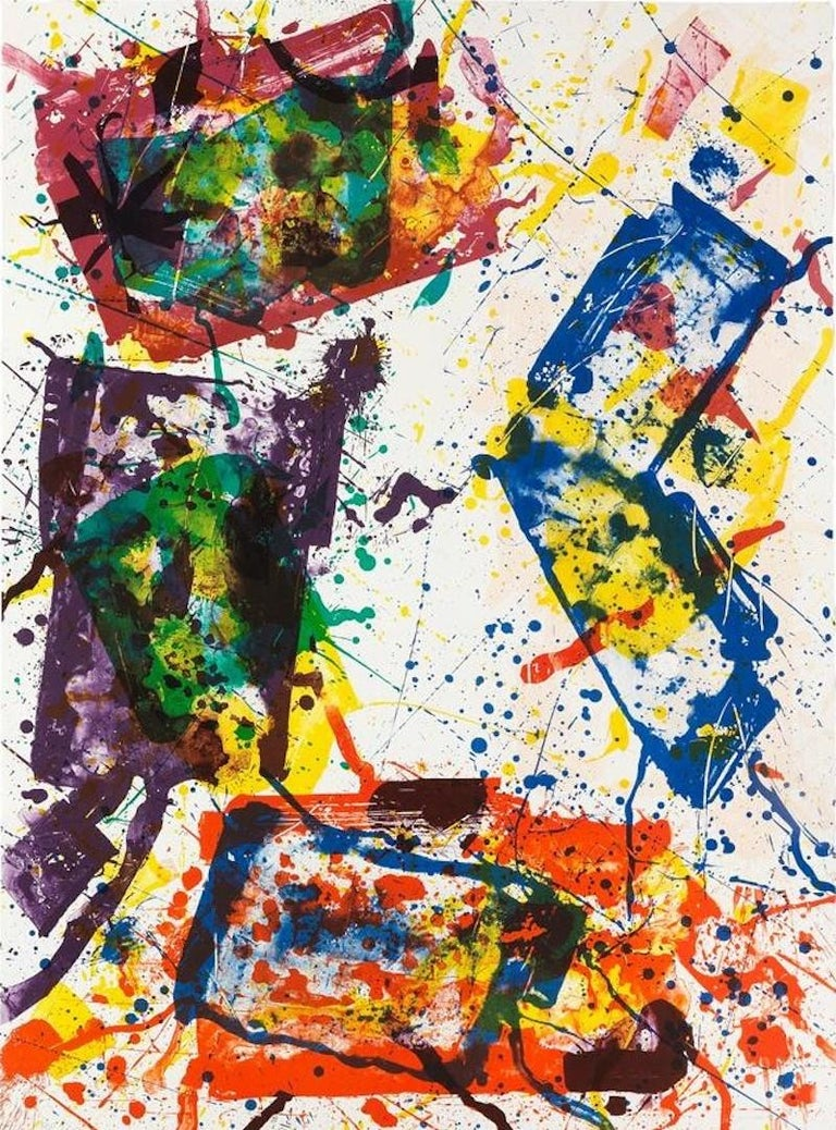 Untitled, Sam Francis - Print by Sam Francis