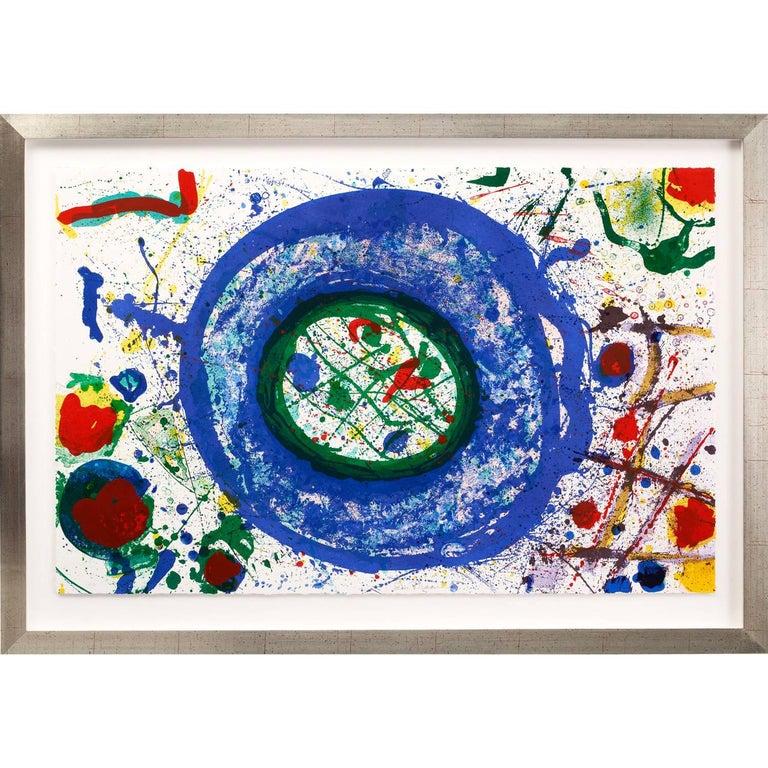 Sam Francis Abstract Print - Untitled (SF-346)