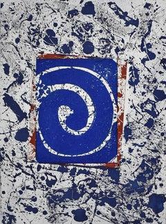 Untitled SFE-003 (Dark Blue) - American Abstract, Post War Art