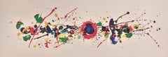 Untitled (Swatch Watch) by Sam Francis